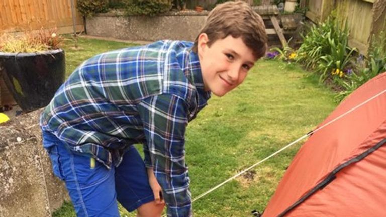 Max is raising money for North Devon Hospice in memory of his friend Rick. Pic: Rachael Woosey