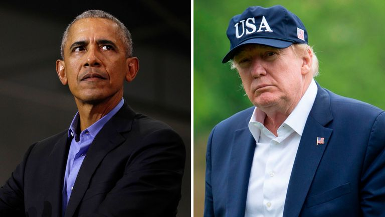 Barack Obama's criticism of Donald Trump was leaked
