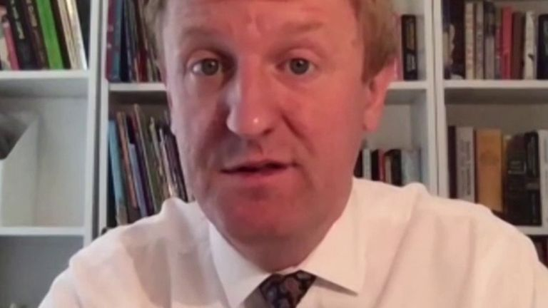 Oliver Dowden tells Sky News viewers not to expect big changes to lockdown restrictions