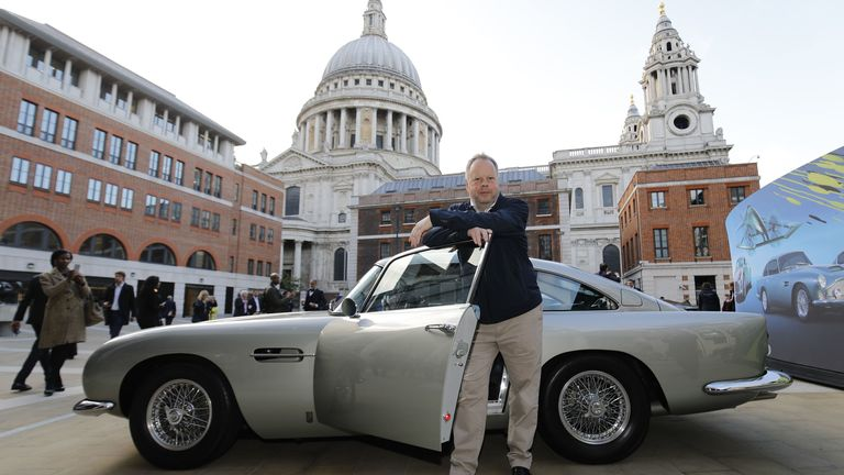 Andy Palmer, CEO of Luxury British sports car manufacturer