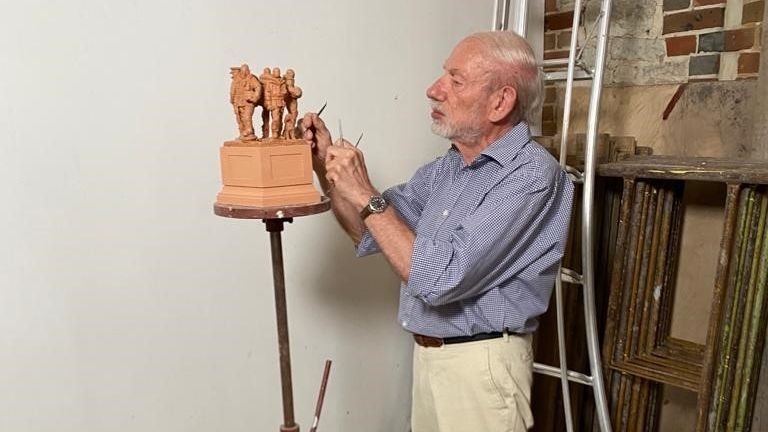 Philip Jackson has been working on the design for over a year