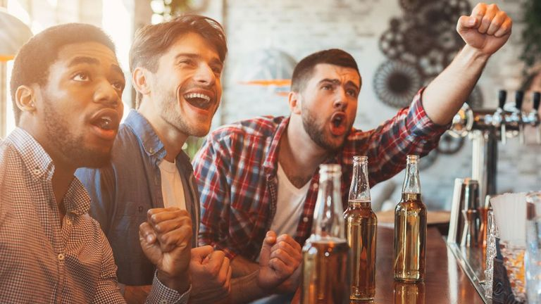 Drinking at the bar may become a thing of the past
