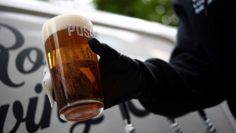 The east London brewer has been pulling pints on people's doorsteps