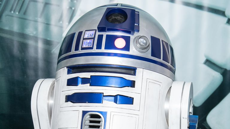 Popular Star Wars character R2-D2