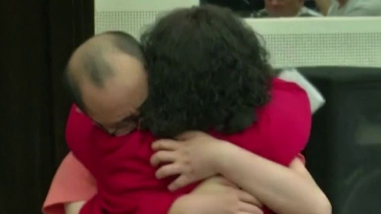 Man is reunited with family after being abducted 32 years ago