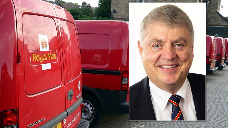 Rico Back has stood down with immediate effect after less than two years in the job. Pics: Royal Mail Group/Reuters