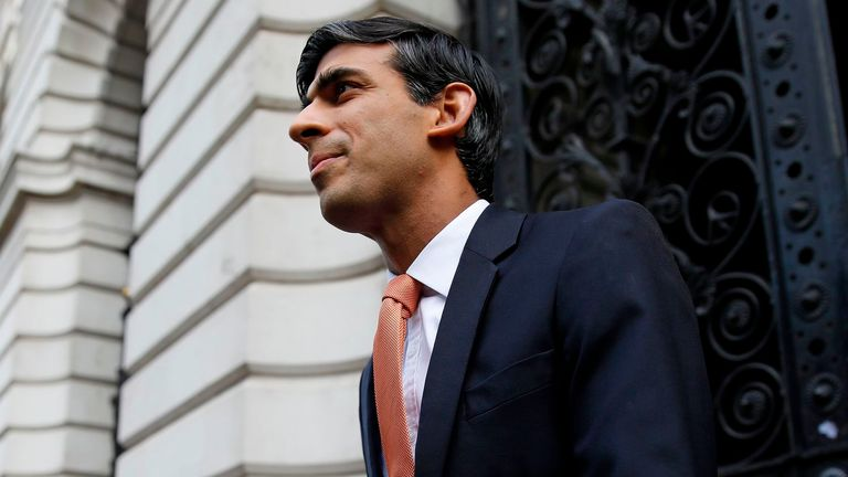 "Rishi Sunak is hoping to avoid the ""cliff-edge"" cut-off of the furlough scheme"