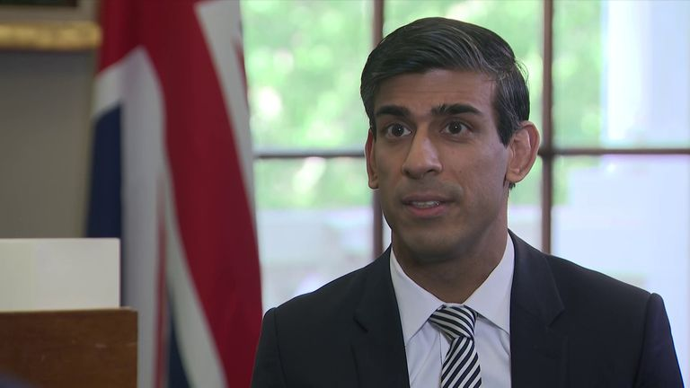Chancellor Rishi Sunak has extended the job retention scheme by four months to October 2020.