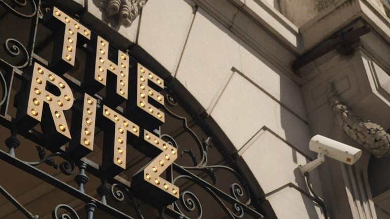 The Ritz was sold in March, allegedly for half its market value