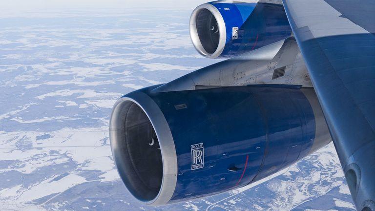Rolls Royce jet engine on a BA passenger jet. Pic: David Pearson/Shutterstock