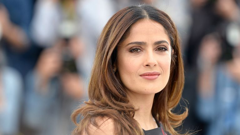 Salma Hayek is The Sunday Times Rich List's 6th richest woman in Britain