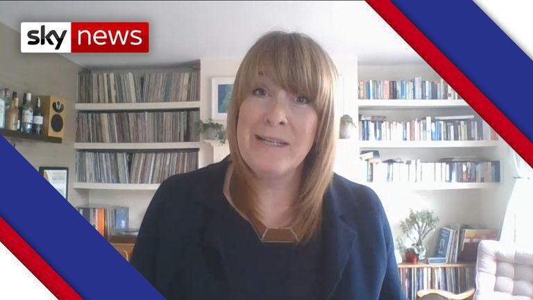 Shadow policing minister Sarah Jones