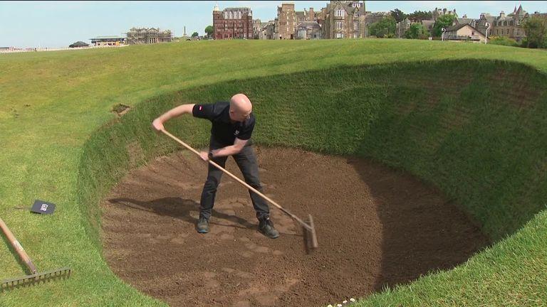 sturgeon scotland golf course