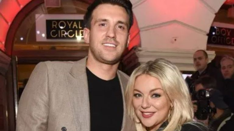 Sheridan Smith with Jamie Horn