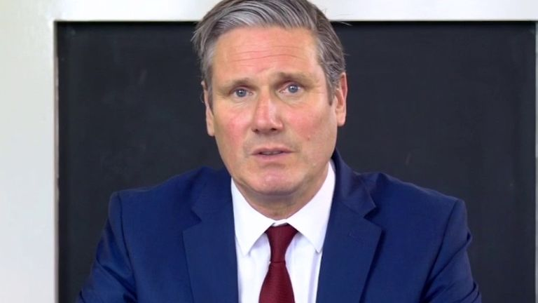 Sir Keir Starmer has some specific questions about lockdown measures, for the government