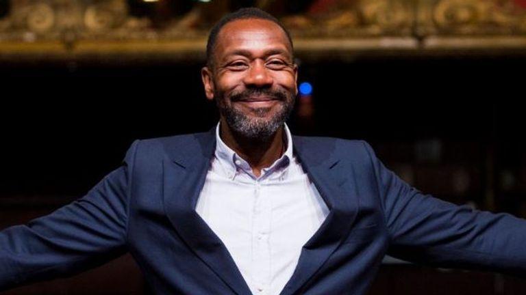 Sir Lenny Henry has been speaking about his younger days