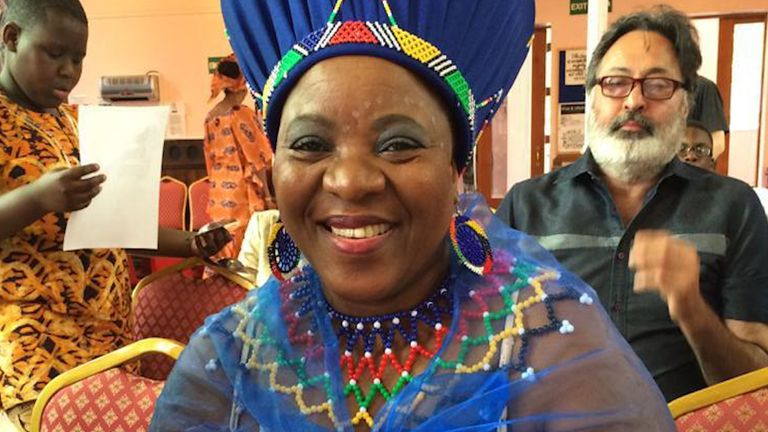 South African nurse Josephine Peter worked for the NHS for 18 years