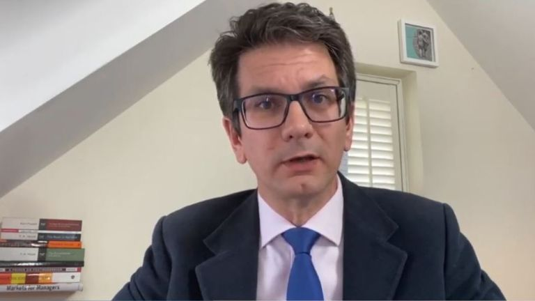 Conservative MP Steve Baker says Dominic Cummings is not 'indispensable' and 'should go'