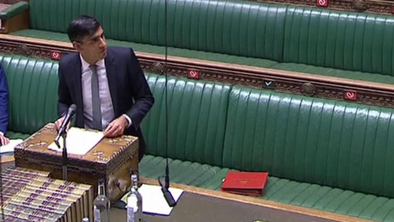 Chancellor Rishi Sunak has extended the government's furlough scheme until the end of October at the same rate