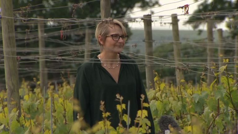 Tamara Roberts, CEO of the winery at Ridgeview Wine Estate