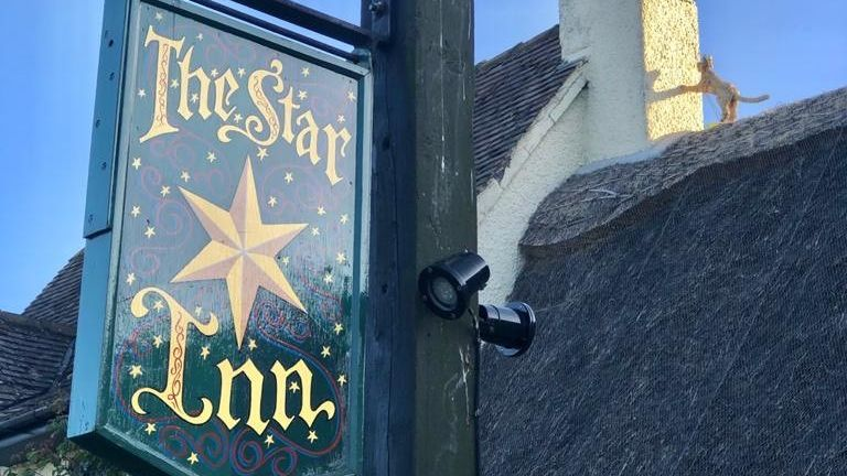 The Star Inn restaurant at Harome in North Yorkshire
