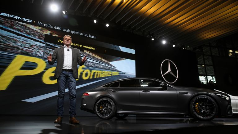 Tobias Moers, chief executive officer of CEO of Mercedes-AMG,