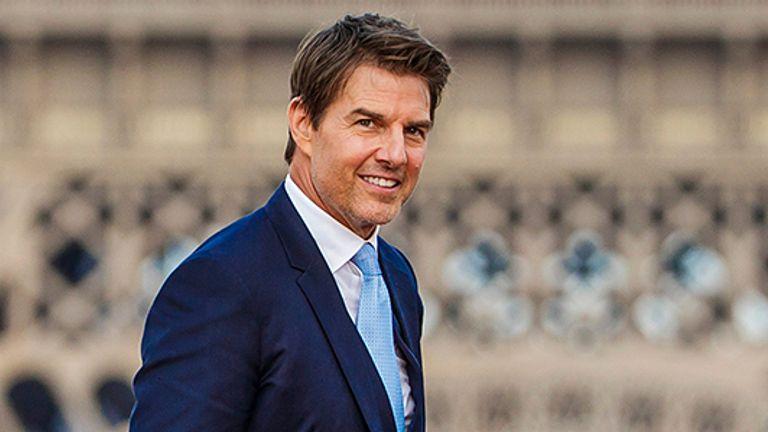 Tom Cruise. Pic: Christophe Petit Tesson/EPA-EFE/Shutterstock