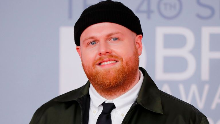 Tom Walker at the Brit Awards 2020