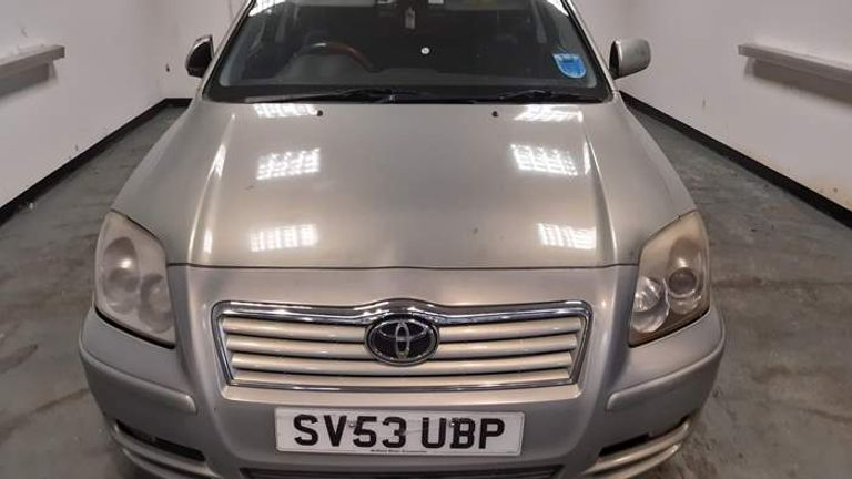 Police recovered the Toyota Avensis that was involved in the shooting