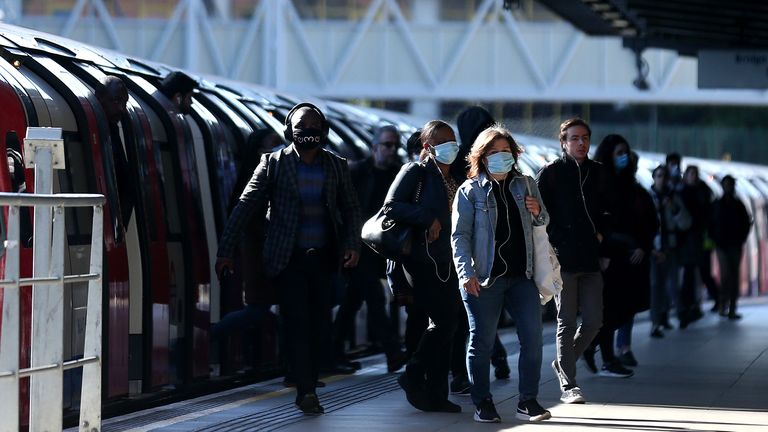 Social distancing for commuters will be a key issue