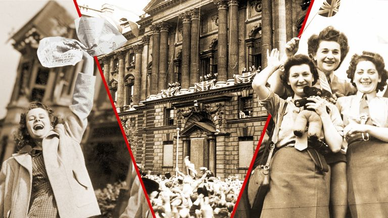 How the UK and the world celebrated VE Day