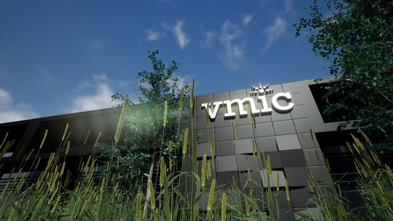 An artist's impression of what the VMIC will look like.
