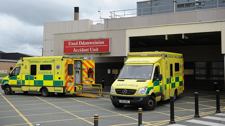 An A&E nurse in Wales said her team did 12 CT head scans in one night over the Bank Holiday