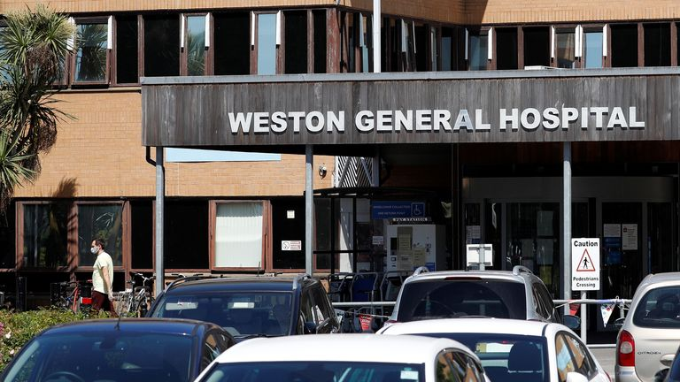 Weston General Hospital has been closed to new admissions since Monday