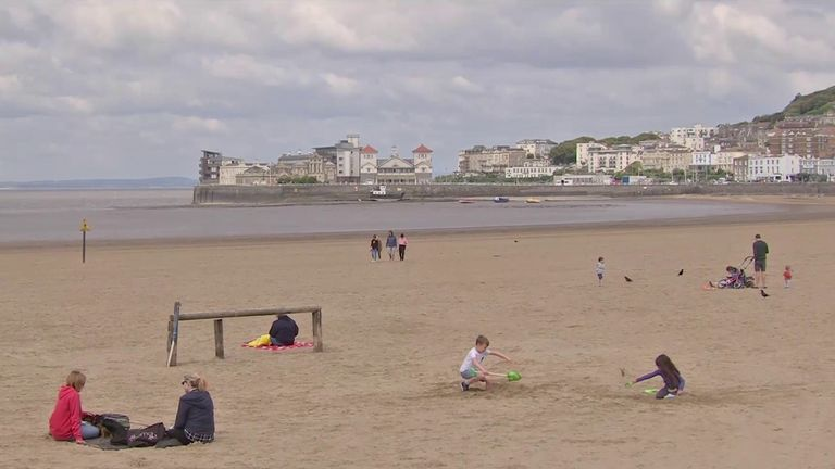 whitehead weston super mare beach
