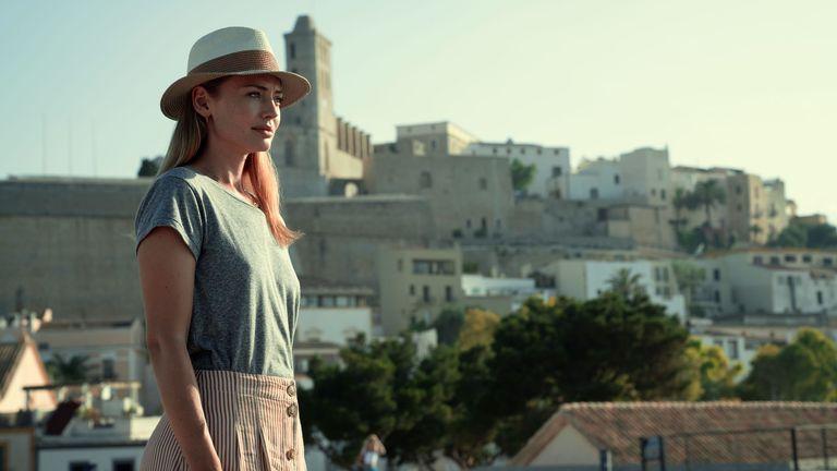 Laura Haddock dans White Lines. Pic: Netflix