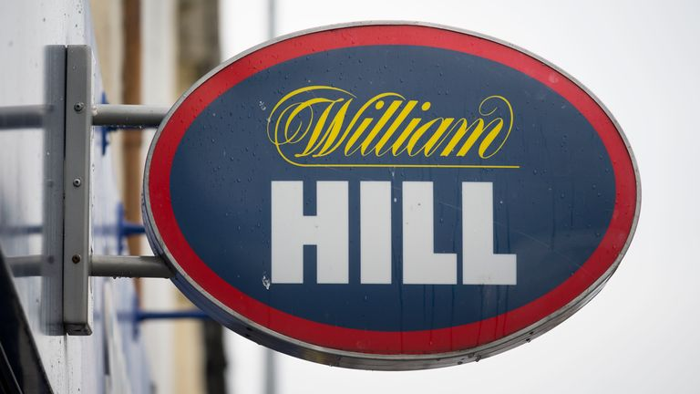 A William Hill bookmakers