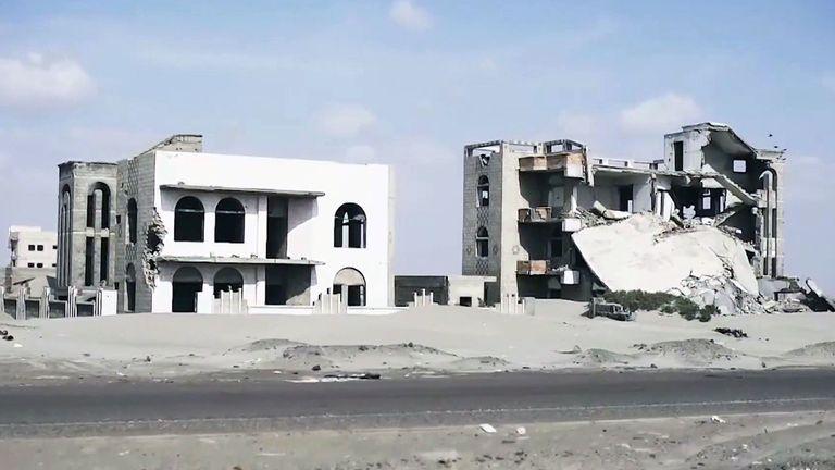 Yemen Mark Stone ruins war torn
