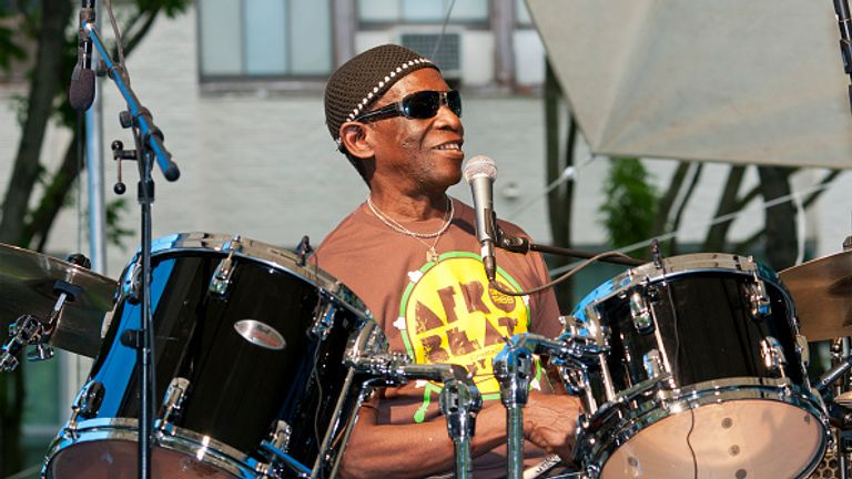 Tony Allen, playing in Brooklyn, New York, in 2010