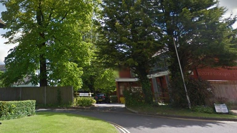 Officers were called to an address in Fountain Gardens, Newbury. Pic: Google Streetview