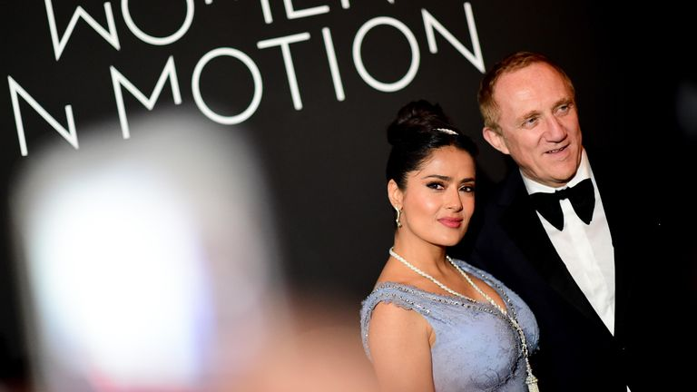 Salma Hayek is married to CEO of Kering Francois-Henri Pinault