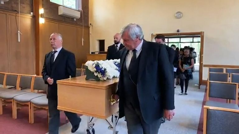Only 10 invited guests were allowed at Rutendo's funeral