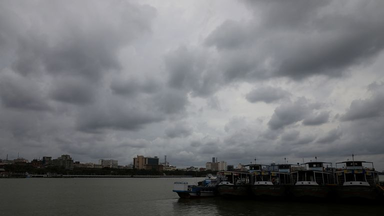 The storm is one of the biggest in a decade for India