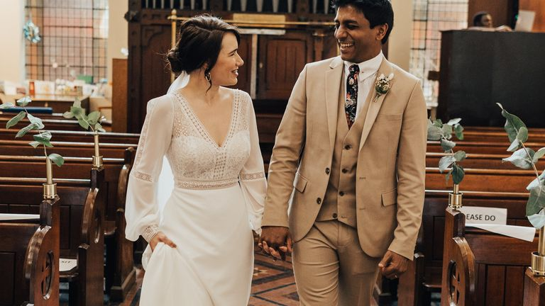 Jann Tipping and Annalan Navaratnam, had planned to get married in August Pic: Rebecca Carpenter Photography
