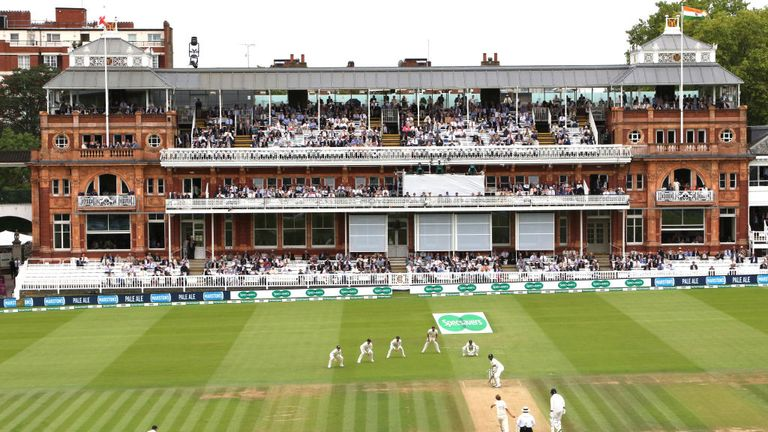 Lord's is currently undergoing £54m worth of refurbishment