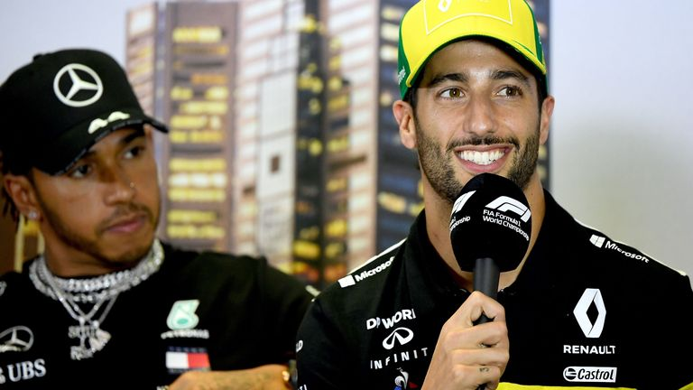 Daniel Ricciardo speaks to Sky Sports F1 about F1's new initiative and his support for Black Lives Matter.