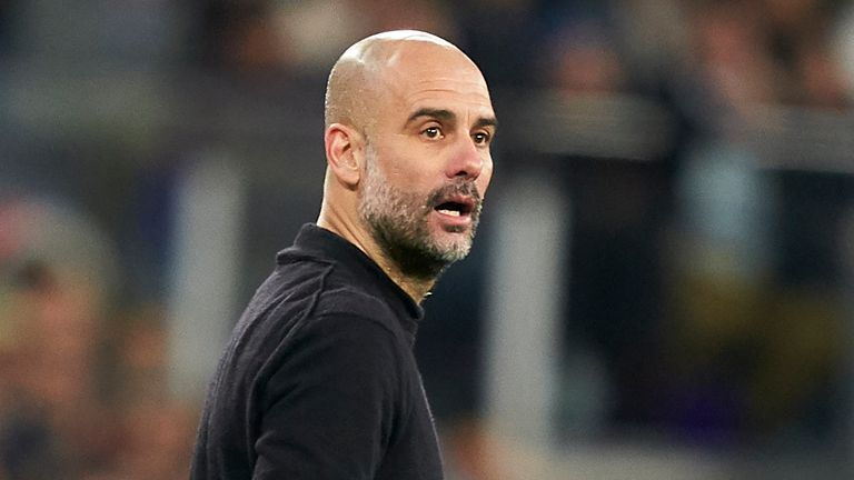 Pep Guardiola congratulated Liverpool on winning the Premier League title but says Manchester City can be proud after winning eight of last 10 domestic trophies