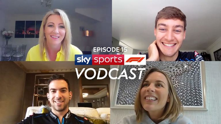 Cost-caps, a return to racing, crashing into Alex Albon and much more... it's a Williams special on the Sky F1 Vodcast as Claire Williams, George Russell and Nicholas Latifi join Rachel Brookes and Johnny Herbert!