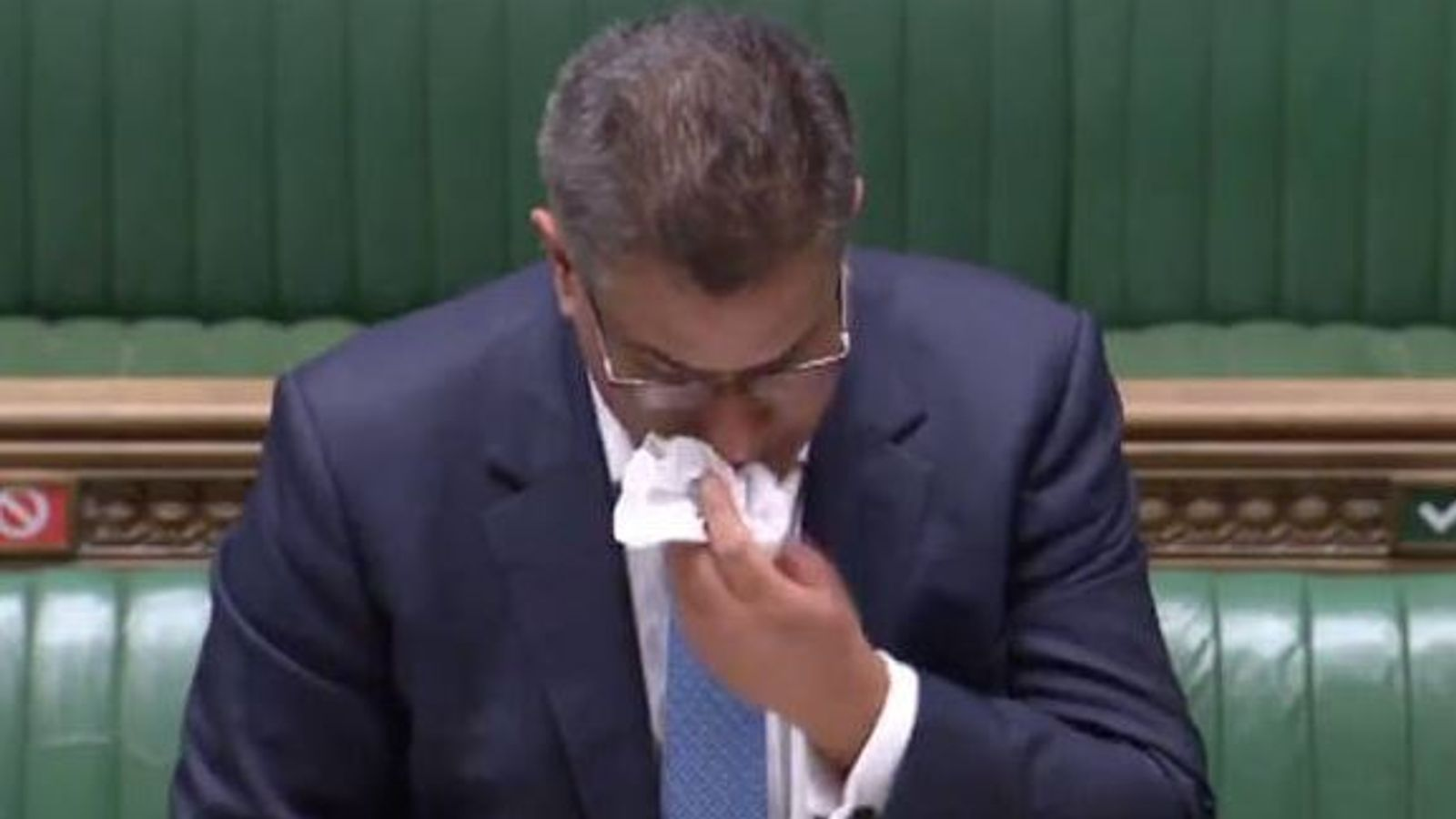 Coronavirus: Alok Sharma tested for COVID-19 after being visibly unwell in Commons