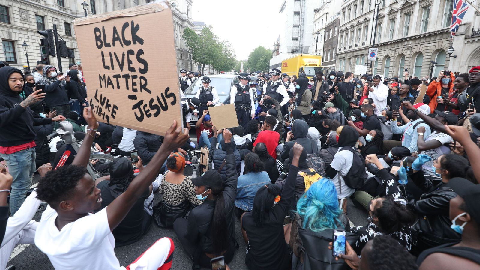 George Floyd death: Black Lives Matter protests 'absolutely need to go ahead', says Shaun Bailey